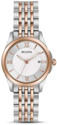 Bulova Modern Two-Tone Watch, 27mm