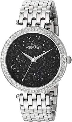 Bulova Women's Quartz Stainless Steel Casual Watch, Color:Silver-Toned (Model: 43L199) $90 thestylecure.com