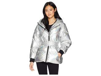 7 For All Mankind Hooded Down Puffer Women's Coat