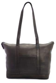 Royce New York Leather Travel Tote