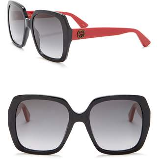 Gucci Square 54mm Sunglasses