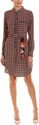 Trina Turk Keleigh Silk Shirtdress