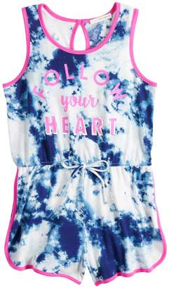 Self Esteem Girls 7-16 Tank Romper
