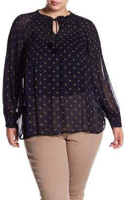 Lucky Brand Star Blouse (Plus Size)