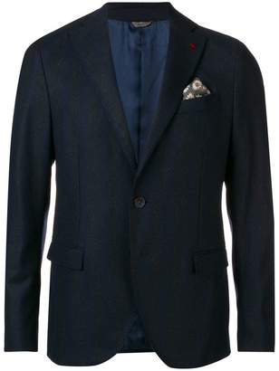 Manuel Ritz striped woven blazer