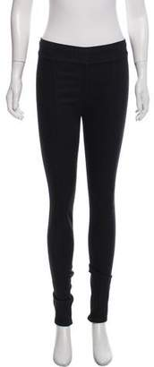 Helmut Lang Mid-Rise Coated Jeggings w/ Tags