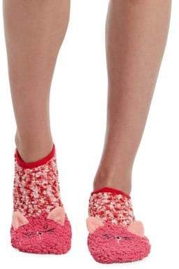 Hue Critter Cozy Socks with Grippers