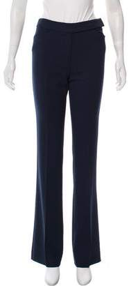 Valentino Mid-Rise Wide-Leg Pants w/ Tags
