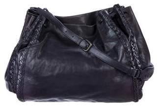 Bottega Veneta Holographic Drawstring Bag
