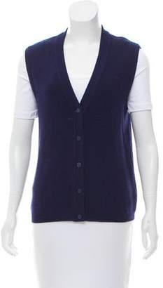Hermes Button-Up Wool Vest