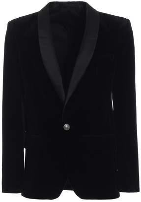 Balmain Elegant And Refined Velvet Smoking Jacket