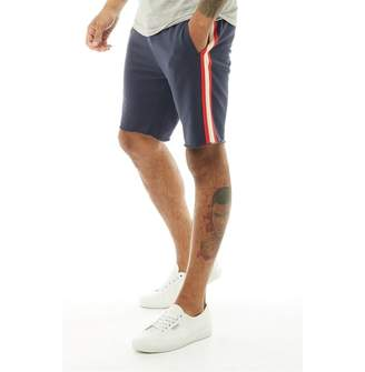 Jack and Jones Originals Mens Taped Sweat Shorts Total Eclipse