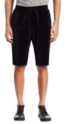 Madison Supply Velvet Athletic Shorts