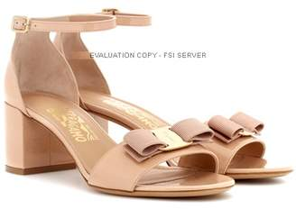 Salvatore Ferragamo Gavina patent leather sandals