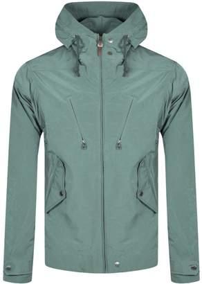 Pretty Green Atherton Hooded Jacket Green