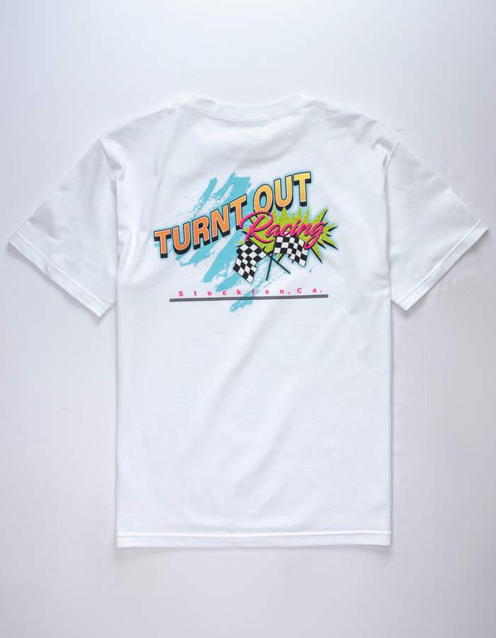 Eldon Turnt Out Racing Mens T-Shirt
