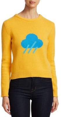Alberta Ferretti Rainbow Week Capsule Days Of The Week Rain Emoji Sweater