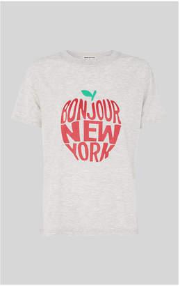 Whistles Bonjour New York Logo TShirt