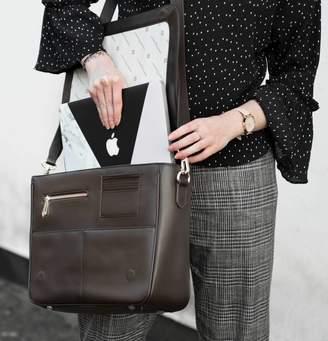 Jennifer Hamley England Luxury Leather Work Bag And Clutch