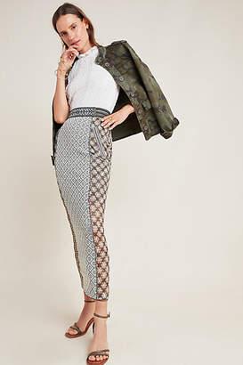 Byron Lars Ryan Knit Maxi Skirt