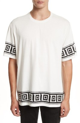 Men's Versace Collection Relaxed Fit Frame Print T-Shirt $195 thestylecure.com