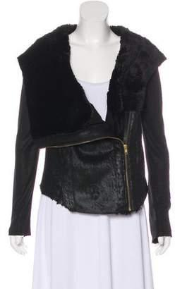 Georgie Faux Leather Jacket