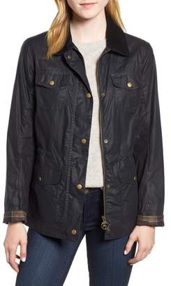 Barbour Waxed Trucker Jacket