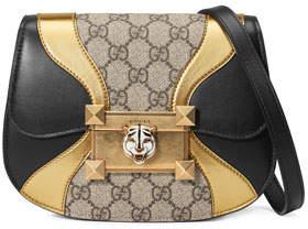 Gucci Osiride GG Supreme Shoulder Bag with Wave Detail