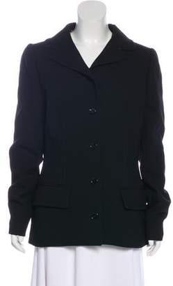 Dolce & Gabbana Notch-Lapel Button-Up Jacket