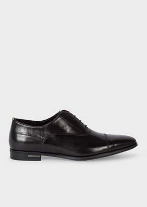 Paul Smith Men's Black Leather 'Morton' Oxford Shoes