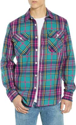 Obey Nelson Plaid Flannel Shirt