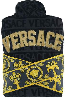Versace (ヴェルサーチ) - Versace Barocco & Robe Sequined Bathrobe