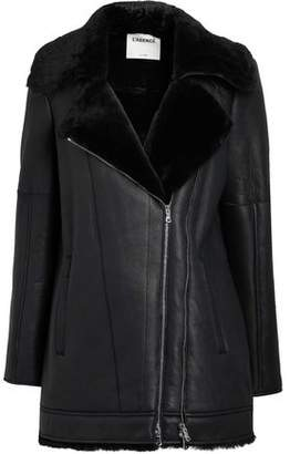 L'Agence Brando Shearling Jacket