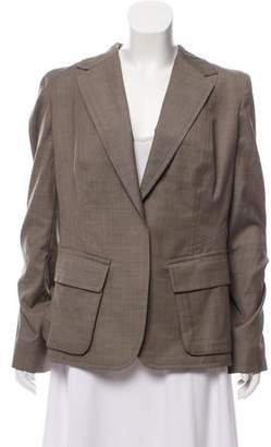 Kaufman Franco KAUFMANFRANCO Wool Notch-Lapel Blazer