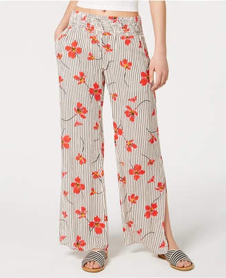 Billabong Juniors' Need You Mixed-Print Soft Pants