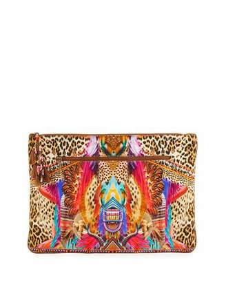 Camilla Large Embellished Clutch Bag, Kingdom Call $150 thestylecure.com