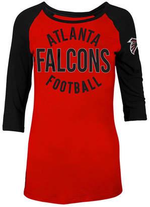 5th & Ocean Women's Atlanta Falcons Rayon Raglan T-Shirt