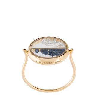 Aurelie Bidermann Chivor diamond and sapphire ring