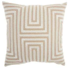 Nourison Geometric Accent Pillow