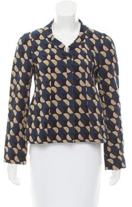 Marni Printed Long Sleeve Jacket