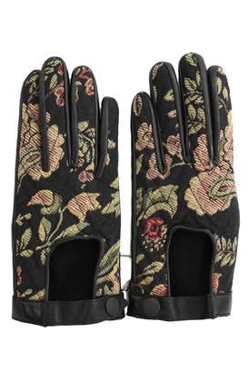 Rag & Bone Chevon Quilted Glove
