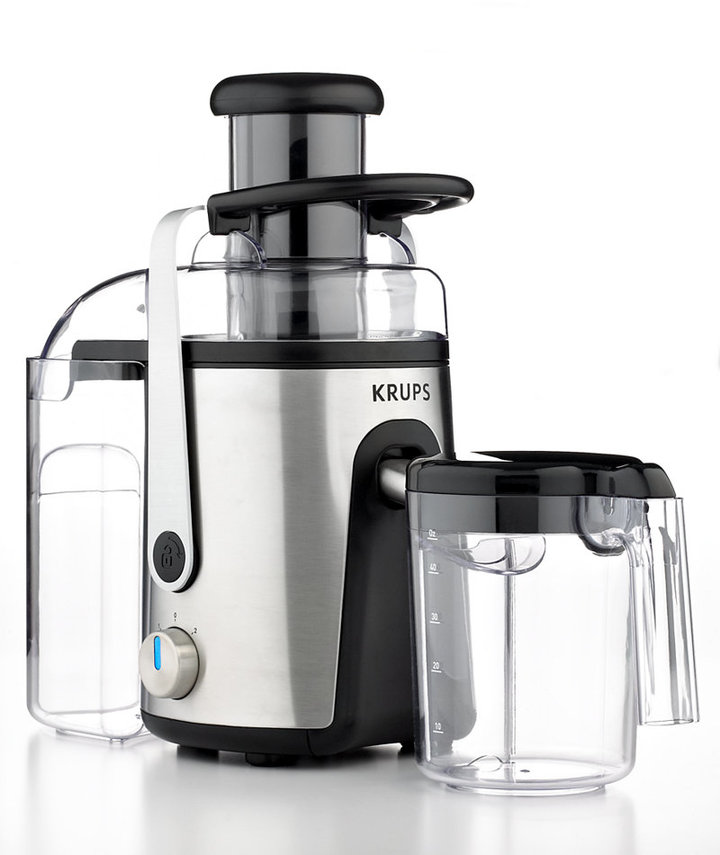 Krups CLEARANCE ZY403851 Definitive Series Stainless Steel Extractor Juicer