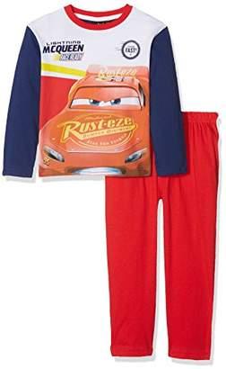 Disney Boy's Long Pyjama Sets, Dark Blue/Red