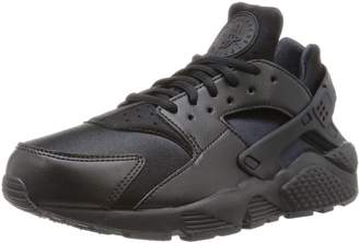 53914f79472a at Amazon Canada · Nike Womens Air Huarache Run Black Leather Trainers 9.5  US