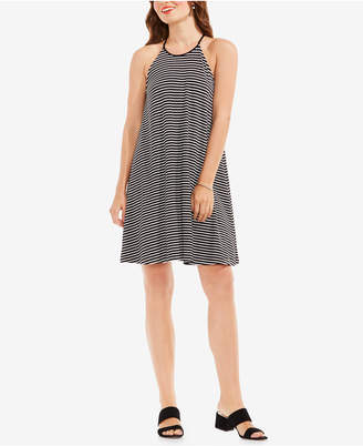 Vince Camuto Striped Swing Dress $99 thestylecure.com