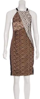 Roland Mouret Printed Sleeveless Dress