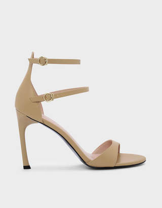 Charles & Keith Dual Ankle Strap Sandals