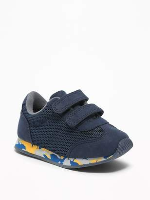 Old Navy Mesh-Trim Secure-Strap Sneakers for Toddler Boys