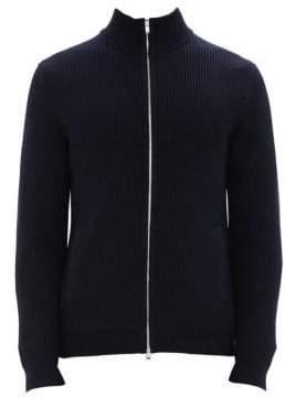 Theory Rovira Wool Zip-Up Jacket