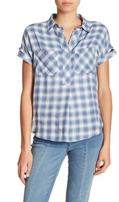 William Rast Lydia Plaid Shirt